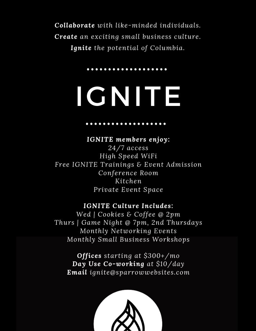 Ignite Columbia – Ignite Columbia Building | Coworking and